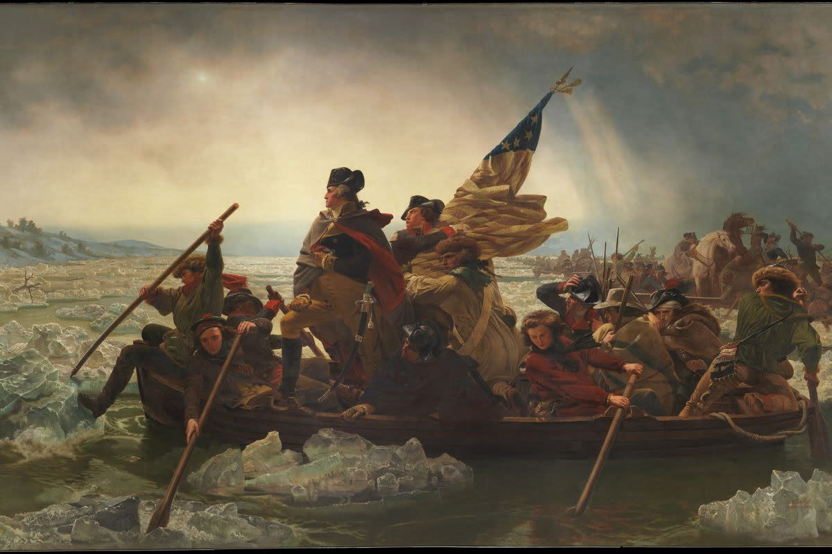 """Washington Crossing the Delaware"" (Emanuel Leutze)"