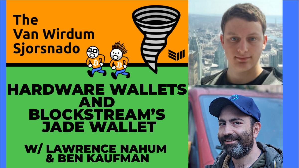 Hardware Bitcoin Security And Blockstream's Jade Wallet