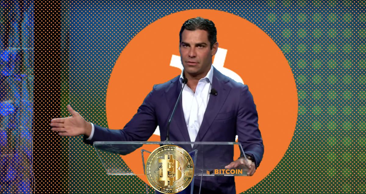Miami Mayor Suarez Calls For Election Of A Bitcoin President After Joe Biden
