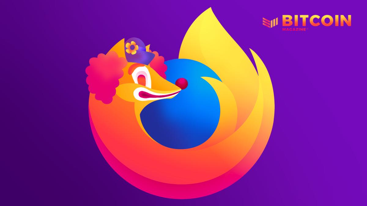 In Denouncing Bitcoin, Mozilla Undermines Ethical Web Principles